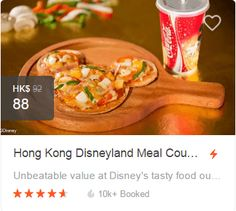 Attraction Tickets, Hong Kong Disneyland, Tasty, Yummy Food, Discount Coupons, Meals, Delicious Food, Meal, Yemek