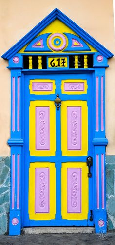 YPB Door Villa de Leyva