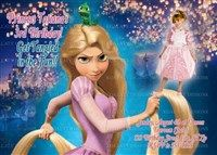 Printable Disney Tangled Birthday Party Invitations