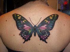 46 Hot Butterfly Tattoo Designs (26)
