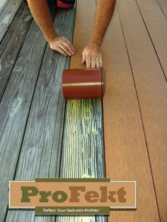 Profekt promises realistic look and durability – Before V After ! Profekt promises realistic look and durability – Before V After ! Deck Repair, Home Repair, Cool Deck, Diy Deck, Patio Decks, Deck Refinishing, Deck Staining, Deck Makeover, Laying Decking