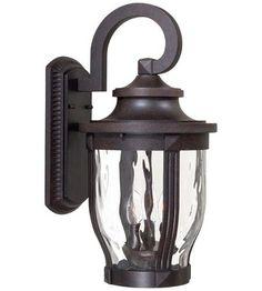 Minka-Lavery 8763-166 Merrimack 3 Light 20 inch Corona Bronze Outdoor Wall Mount Lantern