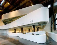 ¿Quieres obtener trabajo en una de las 50 oficinas top de Arquitectura? Aquí están las habilidades que necesitas tener...,Cannon Design oficina regional (Cannon Design fue nombrada como una de las 50 oficinas top de arquitectura por Architectural Record's en 2013). Imágen cortesía de Architectural Imageworks, LLC