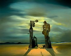 Archaeological Reminiscence of Millet's Angelus, Dali