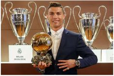 Ronaldo wins fourth Ballon d'or favorite to win Fifa Best Player in January   Cristiano Ronaldo has won the Ballon dOr award for the fourth time capping a season in which his Portugal side won Euro 2016 and his club Real Madrid took the Champions League.  Ronaldo is now one short of his Barcelona rival Lionel Messis record tally of five. Messi finished second this time. Atlético Madrids Antoine Griezmann came third with Leicester Citys Jamie Vardy finishing eighth and his team-mate Riyad…