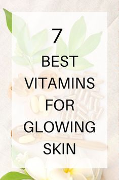 Do you want a smoother, brighter and clearer complexion? These 7 vitamin supplements will give you clear, glowing skin, prevent wrinkles & clear acne. Vitamins For Healthy Skin, Vitamins For Women, Healthy Skin Care, Vitamins For Clear Skin, Hair And Skin Vitamins, Liquid Vitamins, Health Vitamins, Healthy Beauty, Wallpaper Inspiration