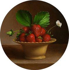 Jonathan Koch. Bowl Of Strawberries