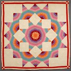 Broken Star quilt (c. 1930)