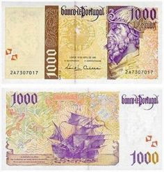 1000 escudos Pedro Álvares Cabral