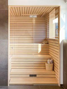 Diy Sauna, St Dominique, Building A Sauna, Kitchen Wet Bar, Indoor Sauna, Sauna Design, Sauna Room, Home Spa, Bathroom Renos