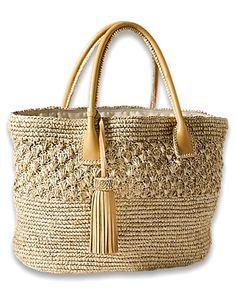 Tommy Bahama Kasbah Tote Crochet Handbags, Crochet Purses, Crochet Bags, Straw Tote, Handmade Handbags, Tommy Bahama, Purses And Handbags, Fashion Bags, Bag Accessories
