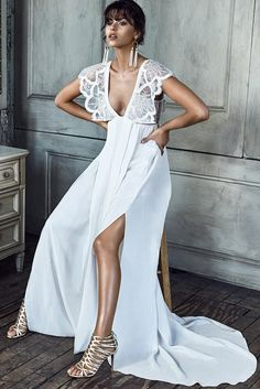 Robe de mariée 2017 : une robe de mariée kimono Grace loves lace, 1500€