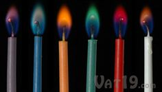 Colorful candles with colorful flames. Wouldn't these look great on a kid's birthday cake? Fire Candle, Candle In The Wind, Best Candles, Taper Candles, Oil Candles, Happy Birthday Candles, Color Harmony, Childrens Party, Color Card