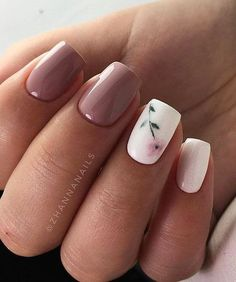 Here is Spring Nail Art Designs Idea for you. Spring Nail Art Designs multi colored x shaped spring nail art design this is a. Spring Nail Art, Nail Designs Spring, Gel Nail Designs, Acrylic Nails For Spring, Flower Nail Designs, Nails With Flower Design, Cute Simple Nail Designs, Acrylic Nail Designs For Summer, Maroon Nail Designs