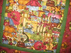 Quilted Wall Hanging or Table Topper a Sewers by PicketFenceFabric, $19.95