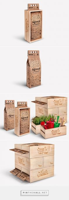 Holcim Agrocal powder gardening packaging design by Studio Sonda (Croatia)…