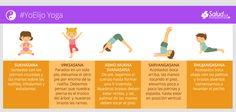 Estas sencillas posturas ayudarán en la concentración y equilibrio de tus hijos. #YoElijo Yoga
