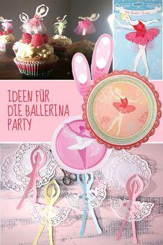 Mit Tutu und Tamtam – so feiert eine Ballerina Geburtstag!   Mädchen   Mottos   Geburtstagsideen   Tambini