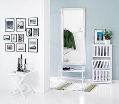 Spiegel RUDE 72x162 cm wit