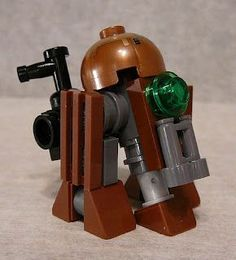 Super Punch: Steampunk Star Wars Lego: Droid, Landspeeder:
