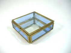 Glass box. $11.25 with shipping