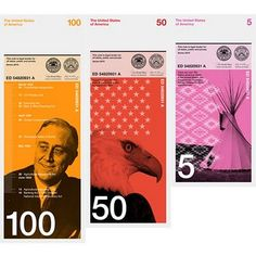 interesting design and concept for currency