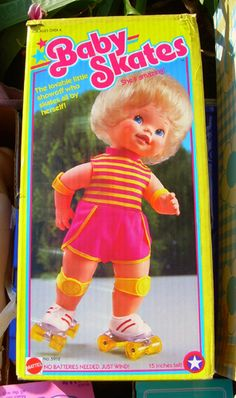 I had this doll, but she would always fall down while she was skating...frustrating!!!