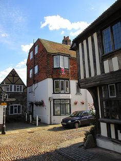 Houses at West and Watchbell streets, Rye, England   Flickr - Photo Sharing!