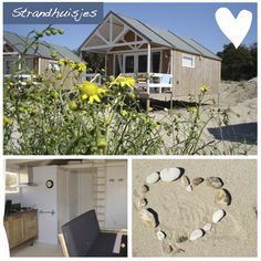 Strandhuisje Kennemerduin (bij Alkmaar) Places To Travel, Places To Go, Away We Go, Dream Beach Houses, Cottages By The Sea, Coastal Homes, Outdoor Life, Weekend Getaways, Bed And Breakfast