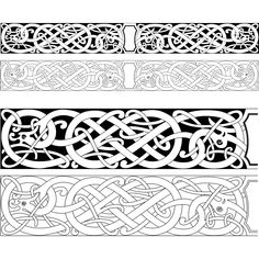 dragon carving pattern - Google Search