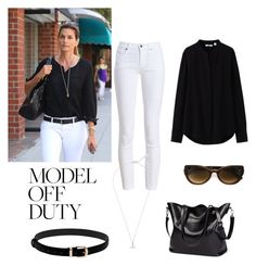 """Contest: model off duty"" by dtlpinn on Polyvore featuring Uniqlo, Barbour, Vivienne Westwood and Martha Medeiros"