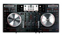 The Numark is a Digital DJ controller with complete built-in mixer and four decks of software control. Buy Numark Digital DJ Controller and Mixer at Promenade Music Digital Dj, Serato Dj, Professional Dj, Dj Gear, Blackberry Z10, Dj Equipment, Best Dj, 4 Channel, Looks Cool