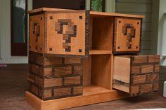 Handmade Mario Themed Bookcase