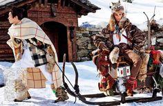 Sacred Tribes of Mont cervin (Vogue Japan)