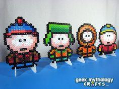 <3 South Park Boys Stan, Kyle, Kenny, & Cartman  From Geek Mythology Crafts Etsy Shop  http://geekmythology.etsy.com
