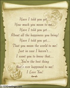 love poems 02 Love You Poems Pictures Romantic Poems, Romantic Love Quotes, You Mean The World To Me, Just For You, Love My Husband, My Love, Amazing Husband, Love Poems For Him, Card Sayings