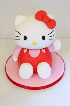 3d hello kitty cake - Google Search