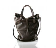 Transitional Leather Tote