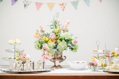 Mother's Day Backyard Tea Party