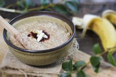 Porridge! It's warming, filling and very satisfying to have porridge in the morning for breakfast. A welcomed change from my usual superfood smoothies on chilly winter days too. About gluten-…