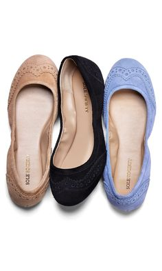 Love these suede flats!