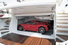 Yacht Garage - AJ MacDonald - Yacht Broker - AJ@DenisonYachtSales.com