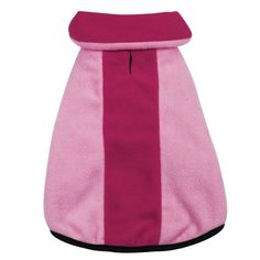 Zack & Zoey Polyester Fleece Dog Jacket, XX-Small, Pink from PetEdge Dealer Services   SALE!   $17.95   BuyDogSweaters.com