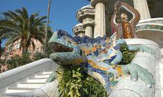 Barcelona Parc Güell - Antoni Gaudi