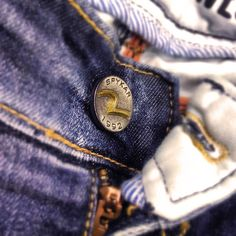 A patent that's as important as your jeans! Click a picture of the button of your Spykar Jeans and share it with us. Who knows, we might just feature it on our page! #Jeans #Style #Photography #Spykar #Bringiton #Denims #JeansButton