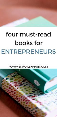 Find 4 must read books for entrepreneurs worth reading. These entrepreneur books touch on business tips, success stories for female entrepreneurs, and more.