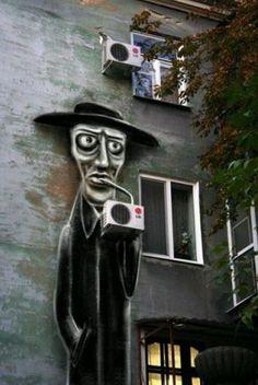 Urban art https://www.facebook.com/pages/Creative-Mind/319604758097900 #streetart jd