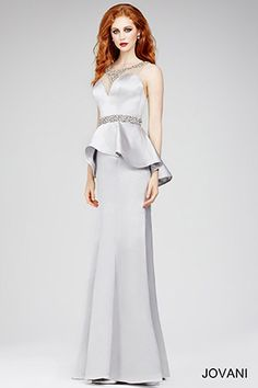 Crystal Embellished Gown 22772