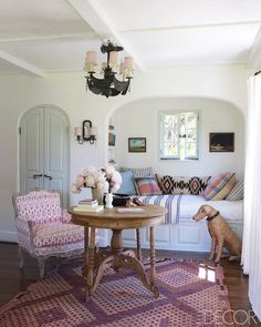Get The Look: Reese Witherspoon's charming California home! From Elle Decor.