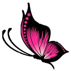 Purple Butterfly Tattoo, Butterfly Outline, Butterfly Clip Art, Butterfly Tattoo Designs, Butterfly Pictures, Butterfly Painting, Butterfly Wallpaper, Butterfly Design, Tattoo Papillon